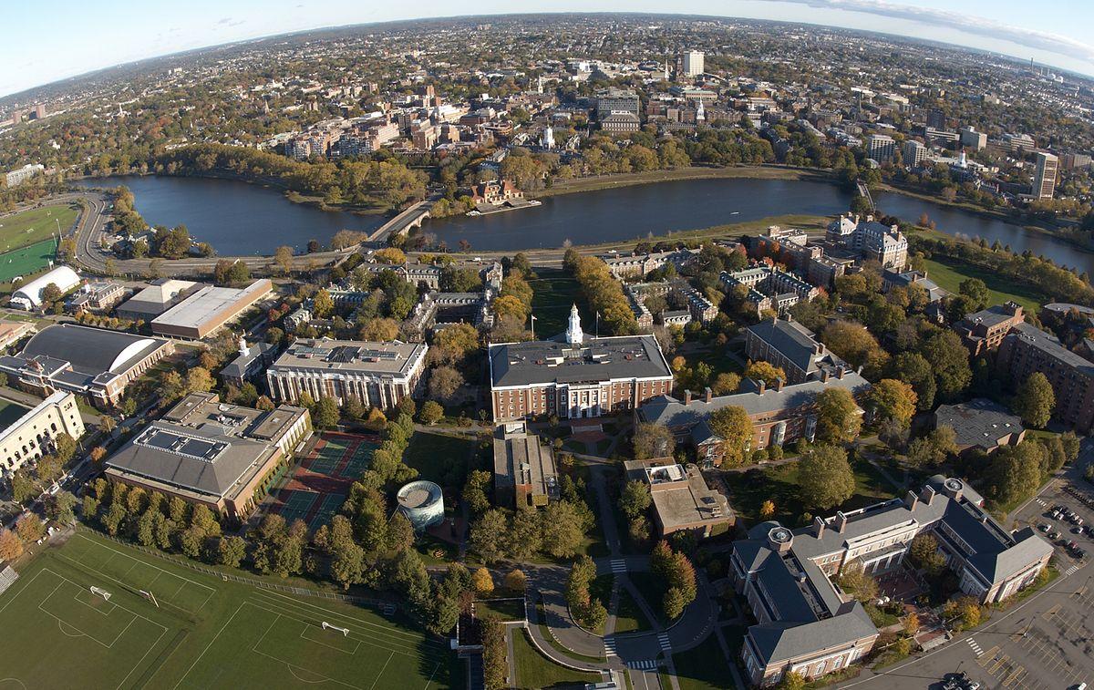 Aerial of the Harvard Business School Campus_Vikram Gandhi