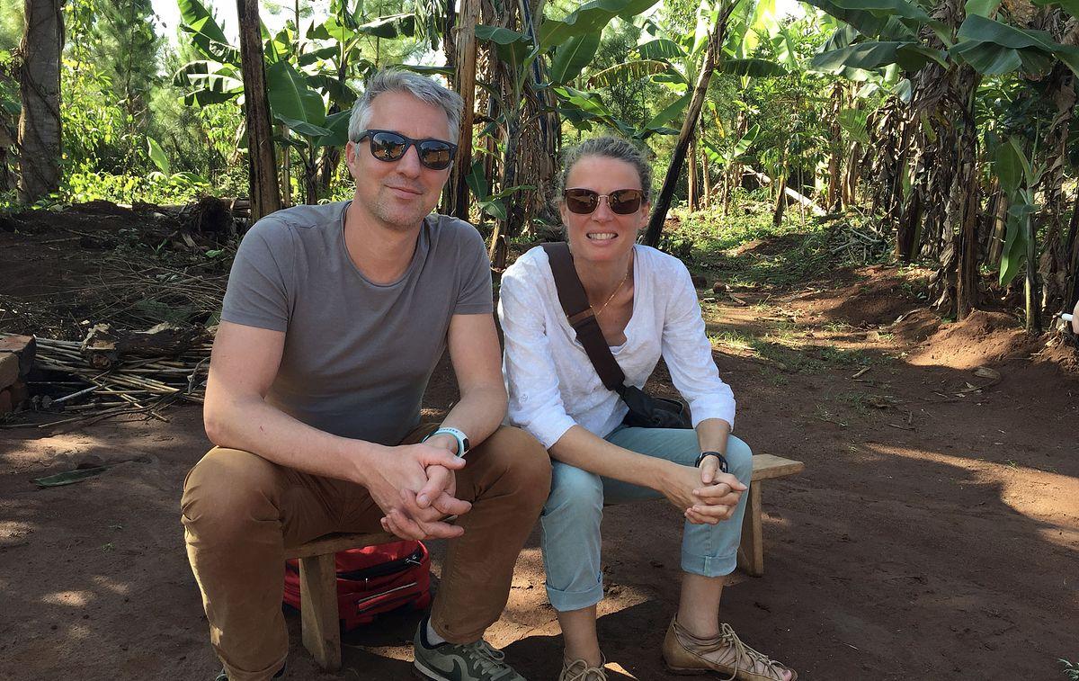 In Uganda pre launch of Energise Africa with Peter Heijen Lendahand founder.