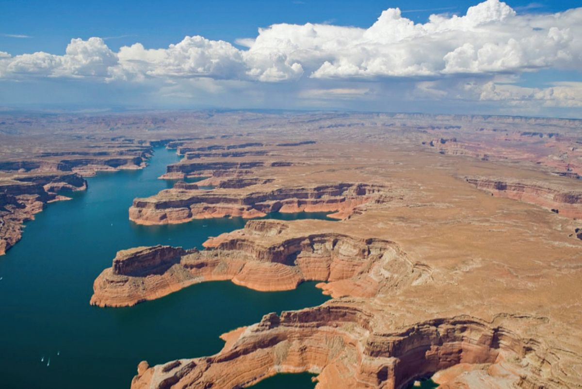Lake Powell on the Colorado River