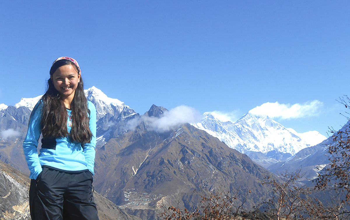 Shailee Basnet_Moutain Hike_Conquering More Than Everest