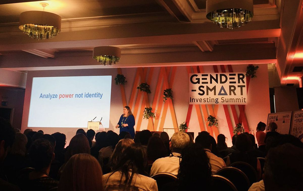 Joy Anderson at the Gender Smart Investing Summit_The Power Dynamic_Invest for Good