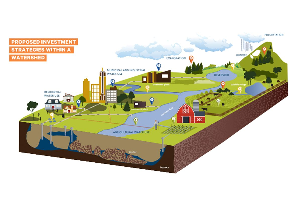 Investment strategies within a watershed
