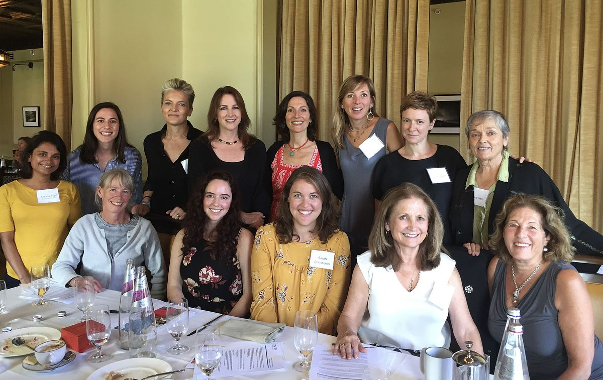 Deb Nelson at a Women's Capital Collaborative meeting _Money in Motion_RSF Social Finance Impact Investment